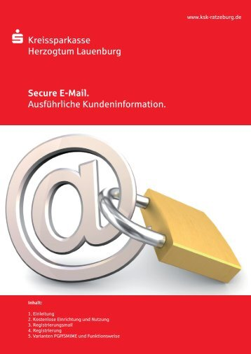 Kundenleitfaden Zertifikat - Kreissparkasse Herzogtum Lauenburg