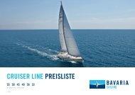 Preisliste Bavaria Cruiser Serie - Allert Marin GmbH