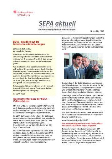 SEPA - Kreissparkasse Schlüchtern
