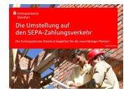 SEPA-Lastschriften - Kreissparkasse Steinfurt