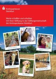 Download Broschüre - Kreissparkasse Steinfurt