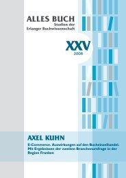BUCH Studien der Erlanger Buchwissenschaft XXV - Alles Buch