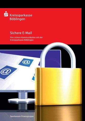 Sichere E-Mail - Kreissparkasse Böblingen