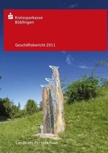 Geschäftsbericht 2011 Landkreis-Perspektiven - Kreissparkasse ...