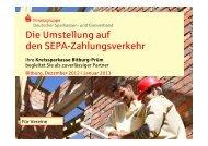 SEPA - Kreissparkasse Bitburg-Prüm