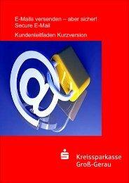 Kundenleitfaden (Kurzversion) - Kreissparkasse Groß-Gerau
