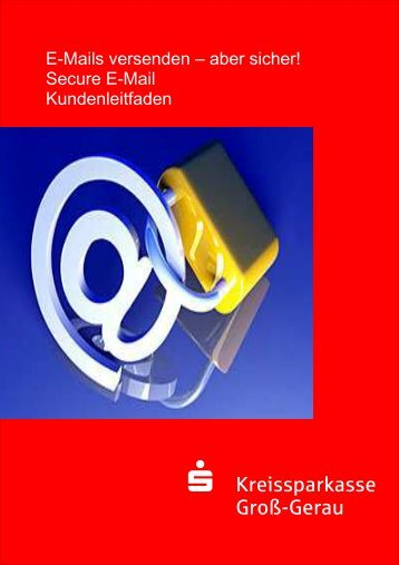 Kundenleitfaden - Kreissparkasse Groß-Gerau