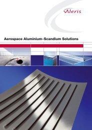 Aluminium-Scandium Sheet from Koblenz - Aleris