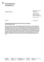 VOrlage: Fax-Brief - Kreissparkasse Ludwigsburg