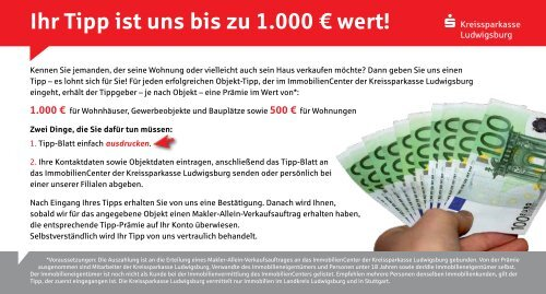 Tipp geben! - Kreissparkasse Ludwigsburg