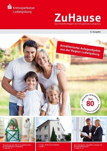ZuHause-Magazin lesen! (PDF) - Kreissparkasse Ludwigsburg