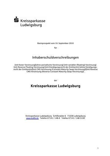 Basisprospekt für Inhaberschuldverschreibungen vom 10.09.2010