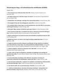 ANH_publikationeroktober2012 - och Lantbruksakademien