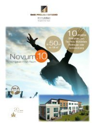 Broschüre NOVUM 10