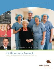 2011 Report to the Community - Allina Health