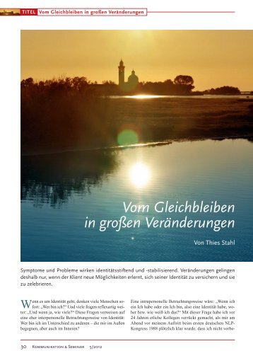 pdf hier herunterladen - Kommunikation & Seminar