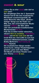 Flyer sweet and sour - Kantonsschule Musegg Luzern - Page 2