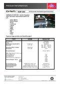 PRODUKTINFORMATION CARBAFLO ® KSP 205 - KS Paul GmbH - Page 2