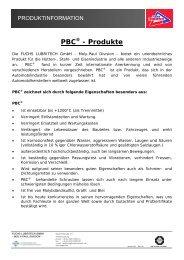 PBC® - Produkte - KS Paul GmbH