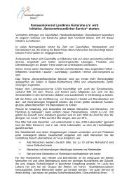 Vorlage Entwurf Seniorenfreundlicher Service bei ... - Kreisseniorenrat