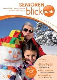 1 • Für Ihre Sicherheit • Infos für Senioren ... - Kreisseniorenrat