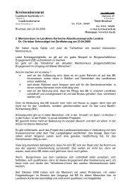 Abschlussansprache Landrat Dr. Schnaudigel - Kreisseniorenrat