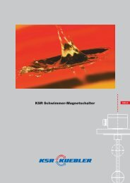 KSR Schwimmer-Magnetschalter