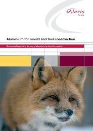 Aluminium for mould and tool construction - Aleris
