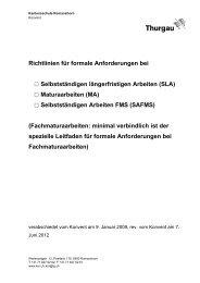 Richtlinien für formale Anforderungen bei Selbstständigen ...