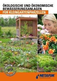 Ökologische und Ökonomische Bewässerungsanlagen für ...
