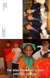 The Allen-Stevenson School 2011-2012 Calendar