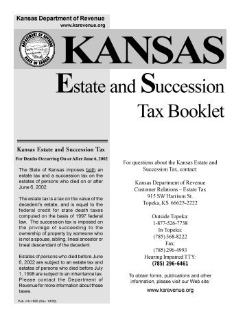 Form 200 Local Intangibles Tax Return and Instructions - Kansas ...