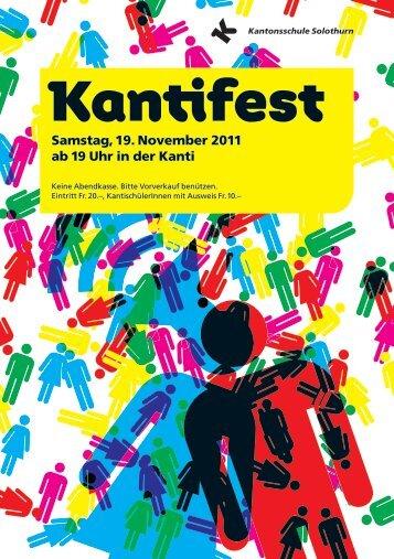 Kantifest - Kantonsschule Solothurn