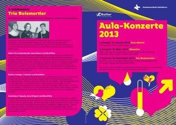 Aula-Konzerte - Kantonsschule Solothurn