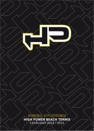 High Power Beach Tennis - Catalogo 2014
