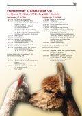 Magazin der 4. Alpaka-Show Ost 2010 (PDF - Seite 6