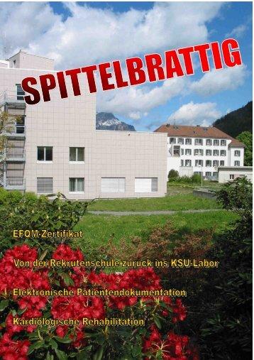 """Spittelbrattig"" Nr. 17, Juni 2006 - Kantonsspital Uri"