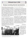 Blickpunkt Sport 1-2006 - Kreissportverband Herzogtum Lauenburg - Seite 6