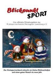 Ausgabe 2/2006 - Kreissportverband Herzogtum Lauenburg