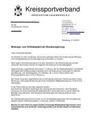 Infos, Richtlinien und Anträge - Kreissportverband Herzogtum ...