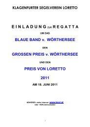 blaue band vom wörthersee - KSVL