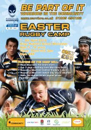 easter rugby camp - The King's School
