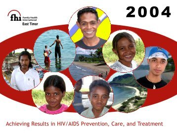 Achieving Results in HIV/AIDS Prevention, Care, and Treatment
