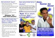Ayo…Hindari HIV/AIDS!