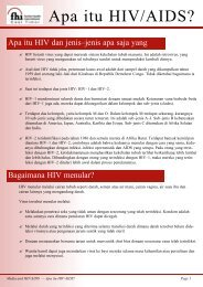 Apa itu HIV/AIDS?