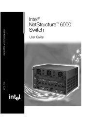 Intel® NetStructure™ 6000 Switch