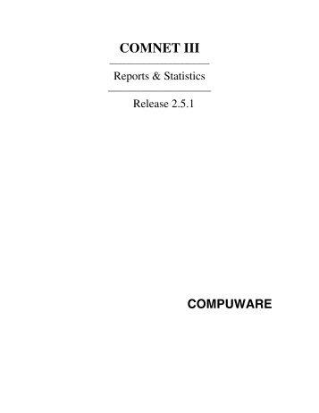 COMNET III