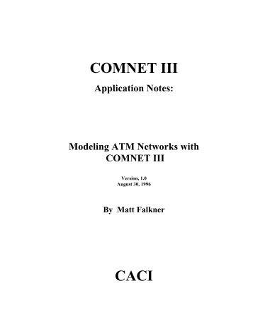 COMNET III CACI