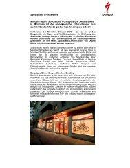 Specialized PresseNews Mit dem neuen ... - Alpha Bikes and Sports