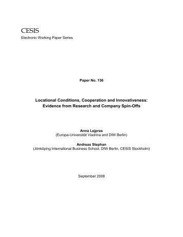 CESIS 136